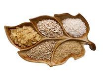 Teigwaren, Getreide, Reis Stockbilder