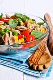 Teigwaren mit Gemüse Lizenzfreies Stockfoto
