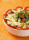 Teigwaren-Salat Stockfotografie