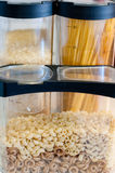 Teigwaren und Reis Lizenzfreie Stockfotos