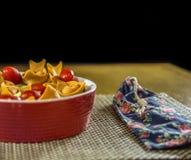 Teigwarenlebensmittel-Brasilianerfeinschmecker stockfotografie