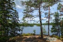 Teijo National Park Lizenzfreie Stockfotos