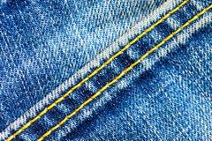 Teil alte Blue Jeans Lizenzfreie Stockfotografie