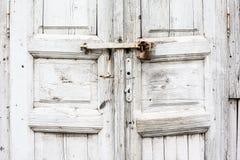 Teil der alten Tür Stockbilder