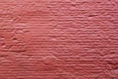 Teil der alten Wandmaurerarbeit des roten Backsteins Stockbild
