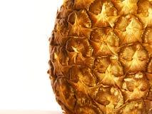 Teil der Ananasnahaufnahme Stockbild