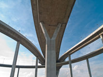 Teil der Bhumibol Brücke Lizenzfreie Stockbilder