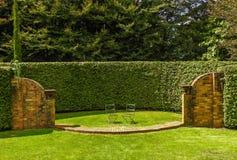 Teil der Cloudehill-Gärten Lizenzfreie Stockfotografie