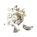 Teil der defekten Uhr Stockfoto