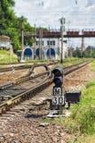 Teil der Eisenbahn Stockfotos