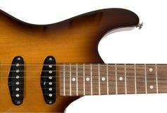 Teil der elektrischen Gitarre Lizenzfreies Stockfoto
