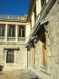 Teil der Fassade des Palastes Massandra Stockfotografie
