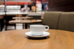 Teil der Kaffeestube Stockbild
