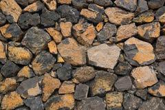 Teil der mittelalterlichen Steinwand Lizenzfreies Stockbild