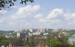 Teil der Smolensk-Stadt Stockfotos