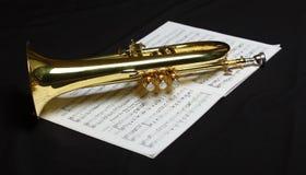 Teil der Trompete Stockfoto
