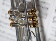 Teil der Trompete Stockfotos