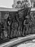 Teil des Afroamerikaner-Geschichts-Monuments aufgrund Süd-Carolina State Houses Lizenzfreie Stockfotografie