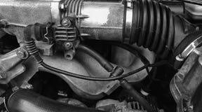 Teil des alten Automotors stockbild. Bild von gänge, automobil ...