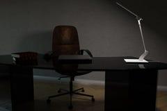 Teil des Büroinnenraums des Arbeitskabinetts Stockbild
