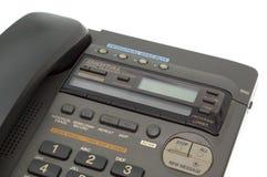 Teil des Bürotelefons Stockfotos