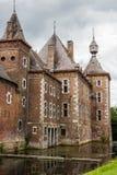 Teil des Commandery-Schlosses bei Sint-Pieters-Voeren, Belgien lizenzfreies stockfoto