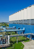Teil des HitzeKraftwerks Lizenzfreies Stockbild