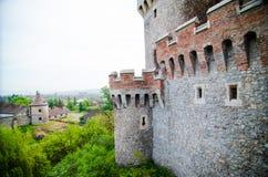 Teil des Huniazi-Schlosses stockbild