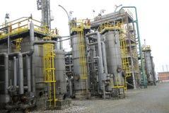 Teil des Raffineriekomplexes