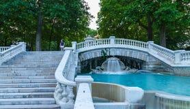 Teil des schönen Brunnens, Dijon Fr stockbild