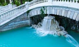 Teil des schönen Brunnens Dijon frankreich stockfoto