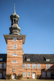 Teil des Schlosses in Husum lizenzfreie stockfotografie