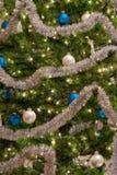 Teil des Weihnachtsbaums Lizenzfreie Stockfotografie