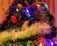 Teil des Weihnachtsbaums Lizenzfreie Stockbilder