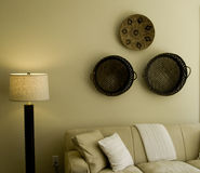 Teil des Wohnzimmers Stockbilder