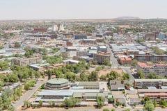Teil des zentralen Geschäftsgebiets von Bloemfontein Lizenzfreie Stockbilder