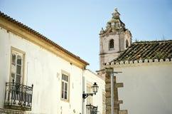 Teil einer portugiesischen Stadt Lizenzfreies Stockfoto