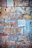 Teil einer Steinwand Hintergrund Lizenzfreie Stockfotografie