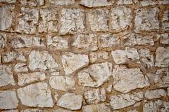 Teil einer Steinwand Hintergrund Lizenzfreie Stockbilder