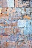 Teil einer Steinwand Hintergrund oder Beschaffenheit Lizenzfreie Stockfotografie