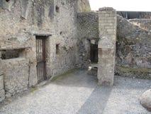 Teil eines alten Schlosses Stockfotos