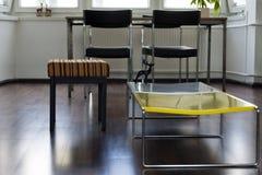 Wohnungs-Wohnzimmer-Detail Lizenzfreie Stockfotos