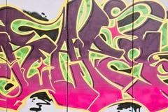 Teil Graffiti Lizenzfreie Stockfotografie