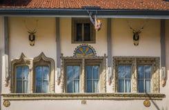 Teil schöne Häuser Stockfotos
