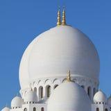 Teil von Abu Dhabi Sheikh Zayed Mosque Stockbild