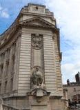 Teil von Admiralitäts-Bogen, London Stockbild