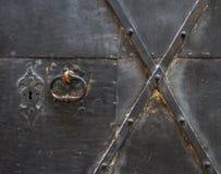 Teil von einem alten eine Tür stockfotos