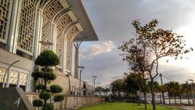 Teil von Masjid Tuanku Mizan Zainal Abidin Putrajaya Stockbild