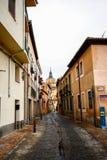 Teil zur Kathedrale von Segovia Stockfotografie