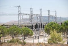 Teildienst der elektrischen Energie Stockbilder